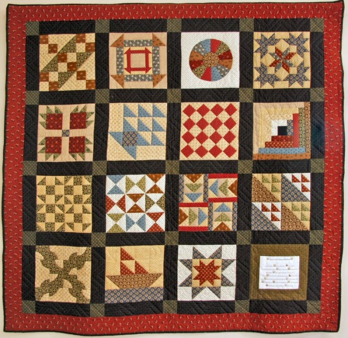 Quilt Patterns Used During The Underground Railroad : Underground Railroad Style Quilt